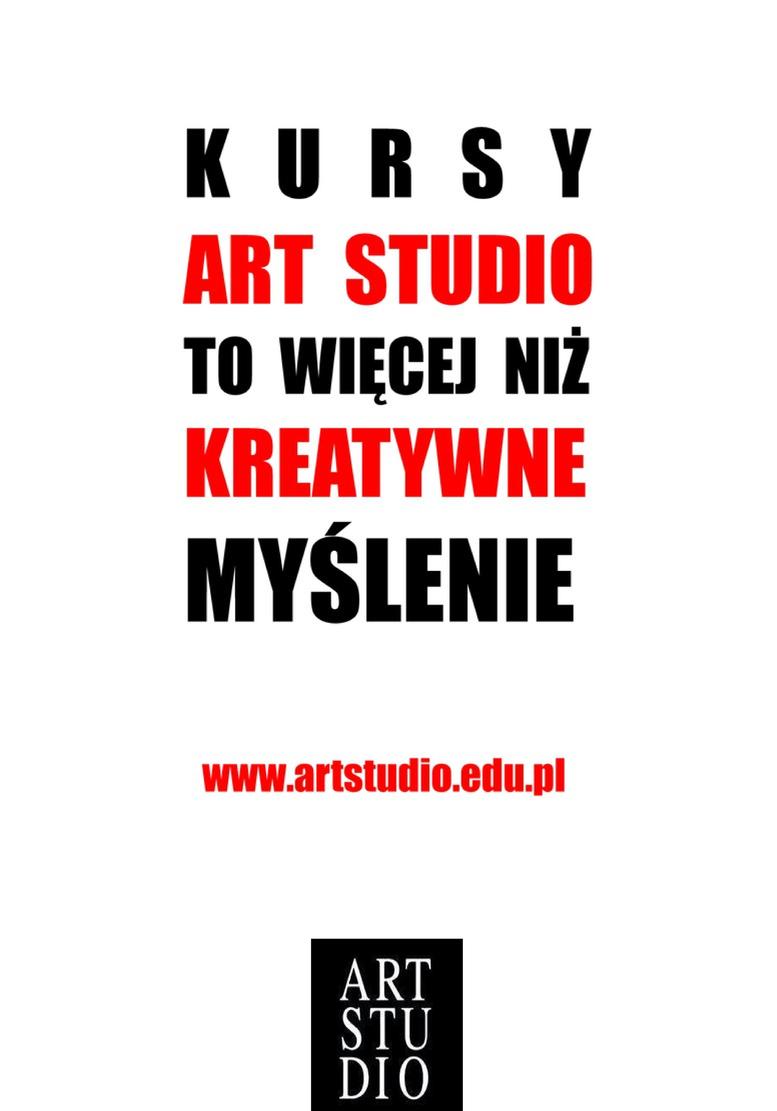 Kursy Art Studio to więcej niż kreatywne myślenie