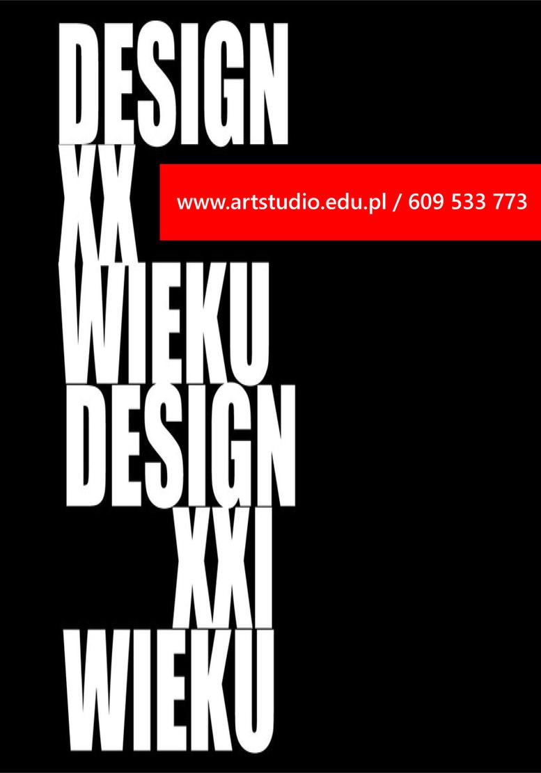 Design XX Wieku. Design XXI Wieku.